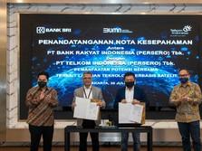 BRI & Telkom Kerja Sama Pemanfaatan Satelit