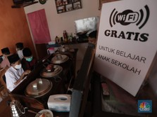 Keren! Warkop ini Sediakan WiFi Gratis Buat Belajar Online