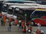 Intip Ramai Pemudik H-1 Iduladha di Terminal Kampung Rambutan