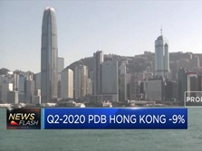 Q2-2020 PDB Hong Kong -9%, Negatif untuk Ke-4 Kalinya