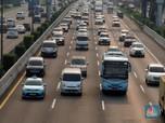 Kendaraan Padat, Jasa Marga Lakukan Contra Flow Arah Cikampek