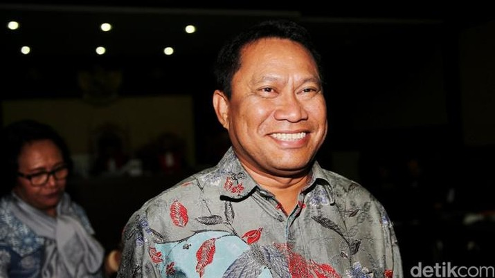 Sekretaris Fraksi Gerindra Fary Djemy Francis (detikcom/Ari Saputra)