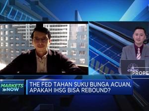 The Fed Tahan Suku Bunga, IHSG Berhasil Rebound