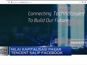 Wow, Nilai Kapitalisasi Pasar Tencent Salip Facebook