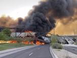 Ngeri! Kereta Tergelincir & Terbakar di Arizona
