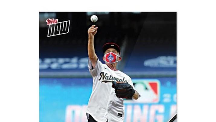 Kartu baseball Anthony Fauci (ist)