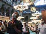 Intip Indahnya Salat Idul Adha Pertama di Hagia Sophia