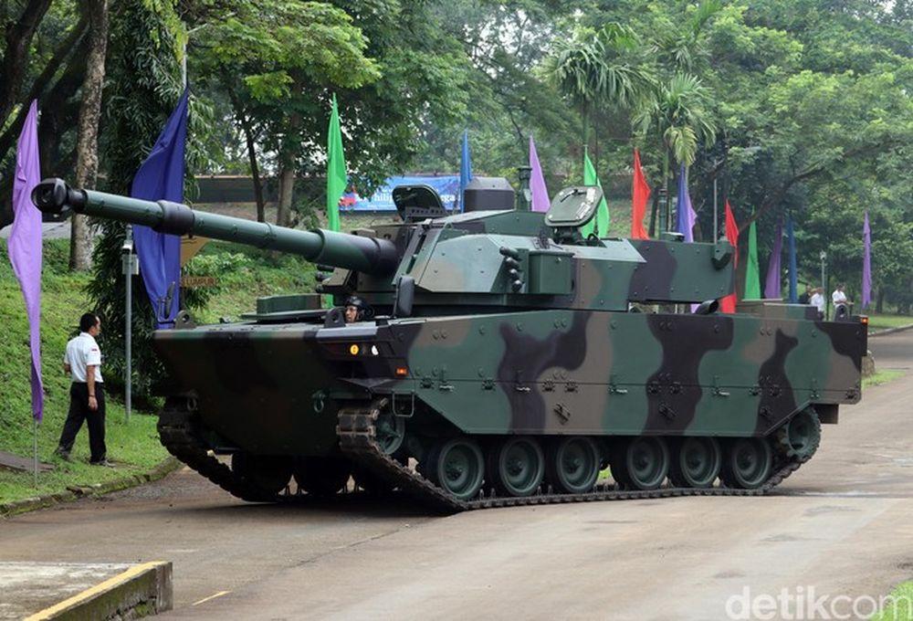 Tank Harimau (detikcom/Wisma Putra)