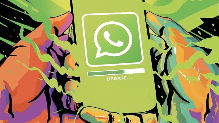 INFOGRAFIS, Dua Fitur Paling Dinantikan dari Whatsapp