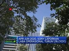 April-Juni 2020, Laba Operasional Sony Turun 1,1% (YoY)