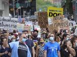 Emak-emak & Bapak-bapak AS Demo, Tolak Trump Buka Sekolah