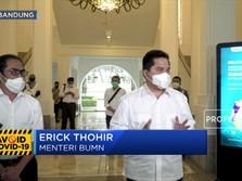 Erick Thohir: Bio Farma Siap Produksi 250 Juta Vaksin