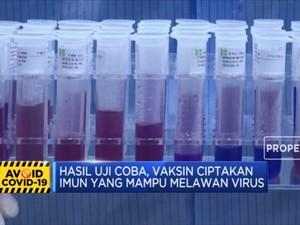 Kabar Gembira, Novavax Sukses Uji Coba Vaksin