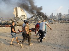 Ledakan Maha Dahsyat Guncang Beirut Lebanon, 70 Orang Tewas