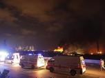 Bak Diserang Bom, Ini Dahsyatnya Ledakan di Beirut Lebanon