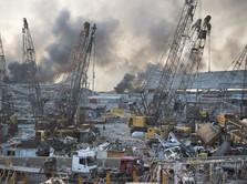 Ini Amonium Nitrat, Biang Kerok Ledakan Dahsyat di Lebanon