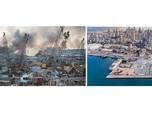 Ngeri, Ledakan Beirut Lebanon Ciptakan Kawah Sedalam 43 Meter