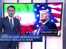 AS Berencana Perpanjang Embargo Senjata Iran