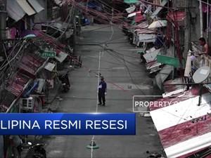 Filipina Resmi Terjun ke Jurang Resesi