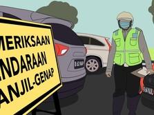 Catat! Ini 25 Ruas Jalan Jakarta yang Terapkan Ganjil Genap