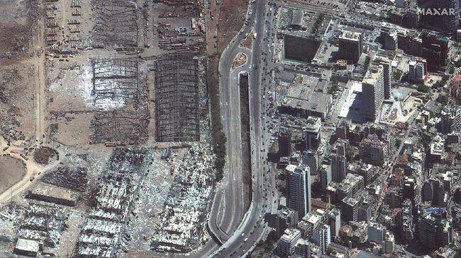 Fakta Mencengangkan Ledakan Beirut yang Mirip Bom