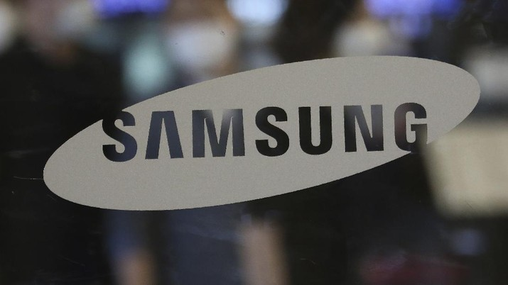 Logo Samsung. (AP/Ahn Young-joon)