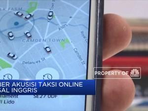 Mantap! Uber Akuisisi Perusahaan Taksi Online Inggris