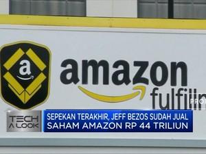 Tajir Melintir! Bos Amazon Jual Saham Hingga Rp 104 Triliun