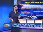 Tegas! Jokowi Atur Sanksi Pelanggaran Protokol Covid-19