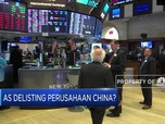 AS Ancam Delisting Perusahaan China di Wall Street
