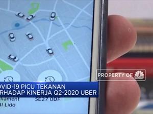 Covid-19, Pendapatan Q2-2020 Uber Terkontraksi 29%