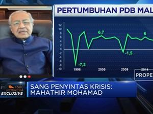 Mahathir Mohamad Optimistis Malaysia Tak Akan Resesi!