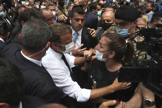Pasca Ledakan Dahsyat, Emmanuel Macron Kunjungi Lebanon