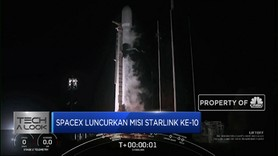 SpaceX Luncurkan Misi Starlink ke-10