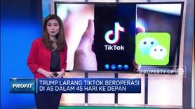Trump Larang Transaksi dengan TikTok & Wechat
