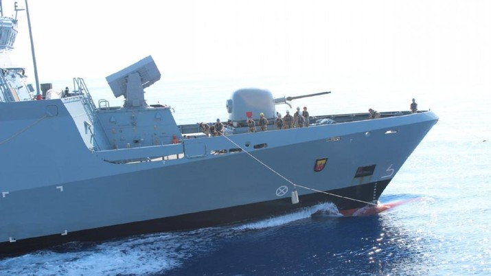 KRI Sultan Hasanuddin-366/dok TNI Mil