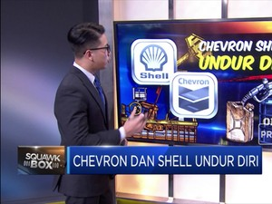 Chevron dan Shell Undur Diri