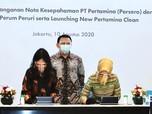 Pertamina & Peruri Kerja Sama Digital Security