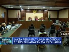Kasus Korupsi Jiwasraya, Penuntut Umum Hadirkan 3 Saksi