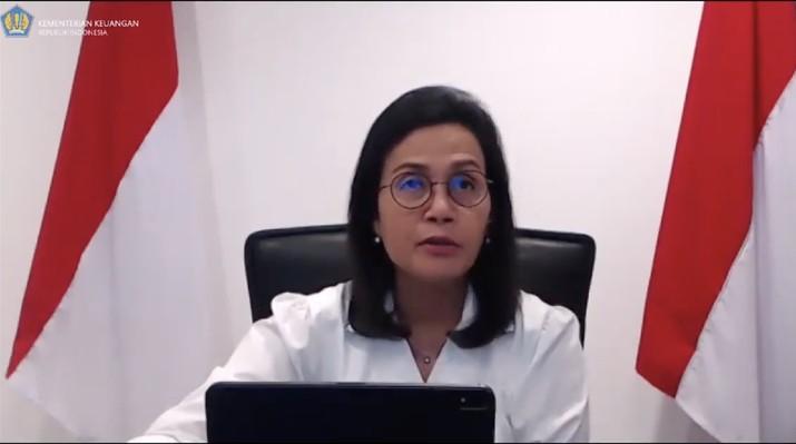 Menteri Keuangan Sri Mulyani  (Tangkapan Layar Youtube Kemenkeu RI)