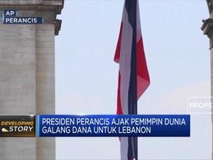 Presiden Macron Ajak Pemimpin Dunia Galang Dana untuk Lebanon