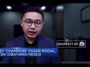 Tips Jadi 'Champion' Pasar Modal di Tengah Bayangan Resesi