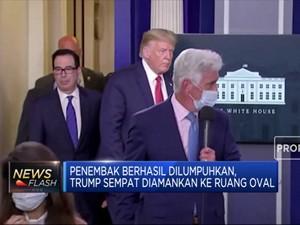 Ini Kronologi Aksi Penembakan di Luar Gedung Putih