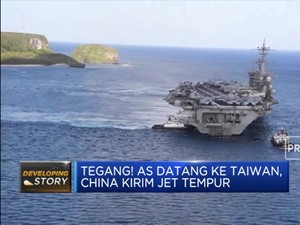 China-AS Perang Teknologi Hingga Pejabat AS ke Taiwan