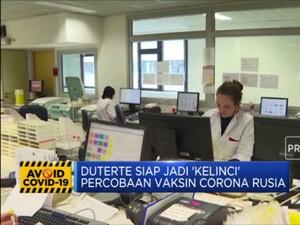 Duterte Siap Jadi 'Kelinci Percobaan' Vaksin Corona Rusia