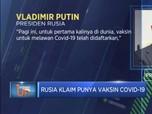 Rusia Klaim Punya Vaksin Covid-19