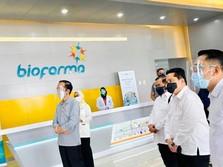 Jokowi Resmi Suntik Modal Rp 2 T untuk Bio Farma