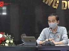 PDB Q2 Minus 5,32%, Jokowi: Mudah-mudahan Q3 Tumbuh Positif