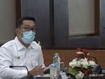 Disuntik Vaksin, Ridwan Kamil: 5 Menit Susah Angkat Tangan