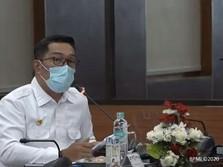 Covid-19 Bodebek Menggila, Ridwan Kamil Berkantor di Depok